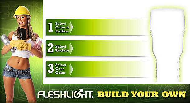 Buy your Fleshlight Build Your Own here - 10% Coupon Code Included